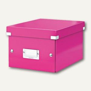 LEITZ Ablagebox Click & Store WOW, DIN A5, pink, 6043-00-23