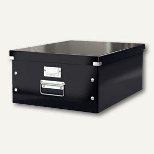 LEITZ Ablagebox Click & Store WOW, DIN A3, schwarz, 6045-00-95
