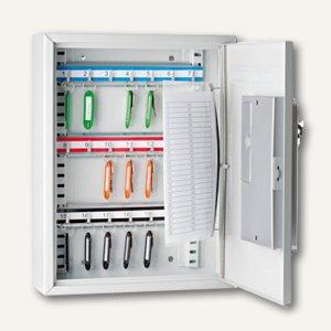 Schlüsselschrank m. elektr. Zahlenschloss, 270 x 350 x 95 mm, 21 Haken, 10262137