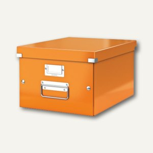 LEITZ Ablagebox Click & Store WOW, DIN A4, orange, 6044-00-44