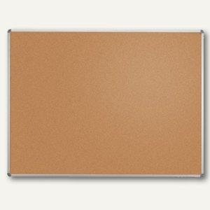 MAUL Pinnboard standard, H60 x B90 cm, Alurahmen, Korkoberfläche, grau, 6441884