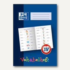 Oxford Vokabelheft DIN A4, Lineatur 3V, 3. Schuljahr, 311401625