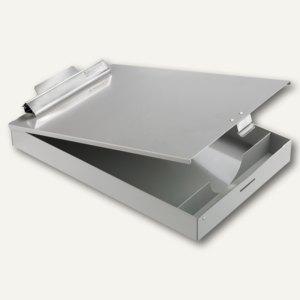 Saunders Klemmbrett Redi-Rite + Formular-Kassette, DIN A4, Aluminium, 31017
