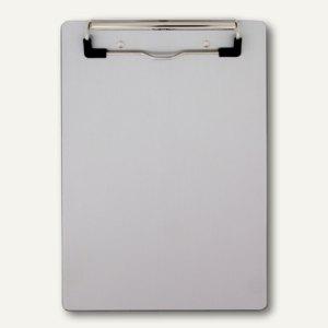 Saunders Klemmbrett DIN A5, Aluminium, Designer Clip, 3 Stück, 21510