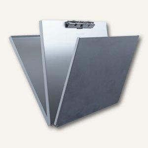 Saunders Formularhalter A-Holder, DIN A4 quer, Aluminium, silber, 00170