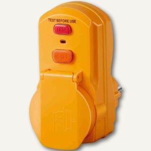 Brennenstuhl Personenschutz-Adapter PD 331-7-2 IP 54, gelb, 1290630
