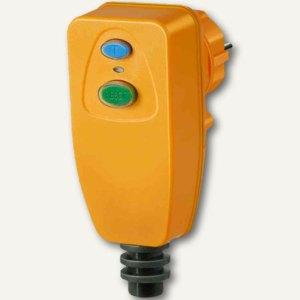 Brennenstuhl Personenschutz-Stecker PD 331-7 IP 54, anschraubbar, gelb, 1290640