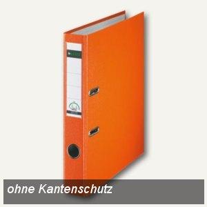 LEITZ Kunststoffordner 180°, Rückenbreite 52 mm, orange, PP, 1016-50-45
