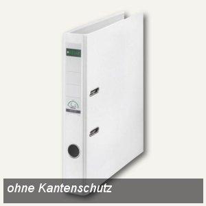 LEITZ Kunststoffordner 180°, Rückenbreite 52 mm, weiß, PP, 1016-50-01