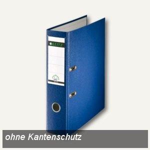 LEITZ Kunststoffordner 180°, Rückenbreite 80 mm, PP, blau, 1013-50-35