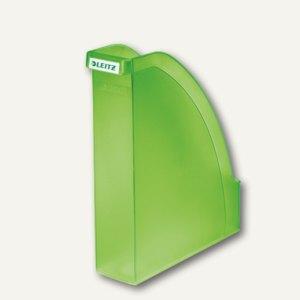 LEITZ Stehsammler Plus, DIN A4 hoch u. quer nutzbar, PS grün-frost, 2476-00-56