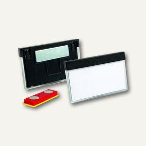 Durable Namensschilder SELECT mit Magnet, 30x60mm, schwarz, 25 Stück, 850701