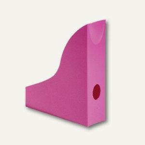 Durable Stehsammler BASIC, DIN A4, mit Griffloch, pink, 6 Stück, 1701711034