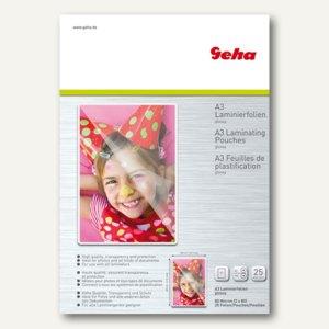 Geha Laminierfolientaschen für DIN A3, 160 mic, 305 x 425 mm, 25 Stück, 86093403