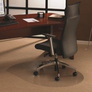 Bodenschutzmatte ultimat, Teppichböden bis 12mm, 99 x 125 cm, konturiert