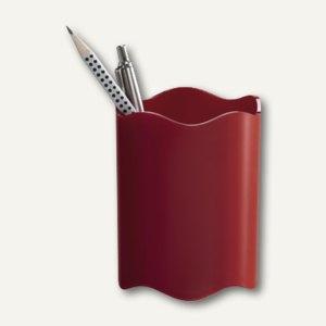 Durable Stifteköcher TREND, Ø 80mm, rot, 6 Stück, 1701235080