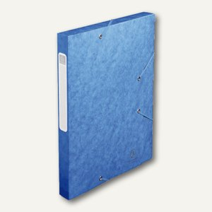 Exacompta Dokumentenbox CARTOBOX, DIN A4, 40 mm, blau, 14005H