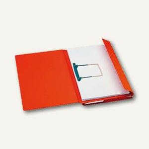 Kombimappe Secolor/ DIN A4 rot Karton 270 g/qm