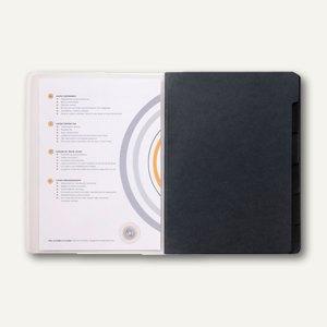 Jalema Ordnungsmappe Lucido DIN A4, schwarz, 1400619