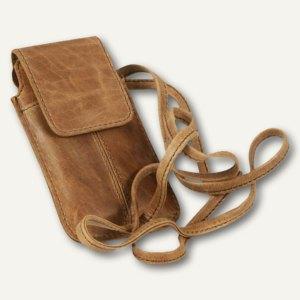 baobao Neckholer Smartphonehülle STYLE, Echt Leder, braun, 601363