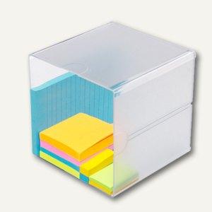 Organiser-System CUBE, Cube einfach, B 15.2 x H 15.2 x T 15.2 cm, glasklar