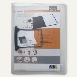 Jalema Clipmappe Lucido, DIN A4 weiß-transparent, 1401030