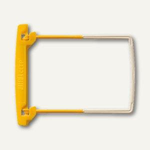 Jalema Archiv-Clip Heftmechanik/ 100 Kunststoff, gelb, 10 Stück, 5710200