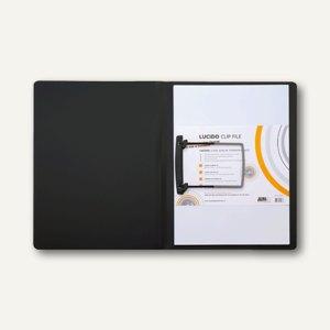 Jalema Clipmappe Lucido, DIN A4 schwarz, 1401019