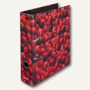 "Herlitz Motivordner maX.file World of Fruits ""Kirschen"", A4, 80 mm, 10645356"