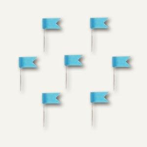 Alco Markierfähnchen, 20 mm, hellblau, 20 Stück, 714