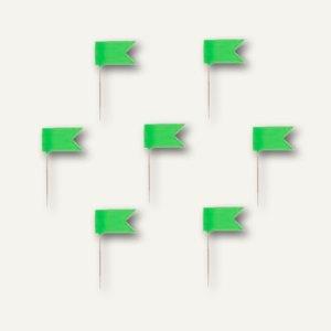 Alco Markierfähnchen, 20 mm, hellgrün, 20 Stück, 717