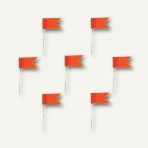 Alco Markierfähnchen, 20 mm, orange, 20 Stück, 719