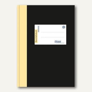 Ursus Geschäftsbuch, DIN A4, 5 mm kariert, 80 g/qm, 96 Blatt, 608360