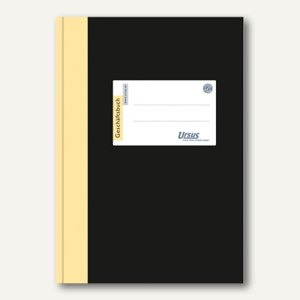 Ursus Geschäftsbuch DIN A5, 5 mm kariert, 80 g/qm, 96 Blatt, 608380