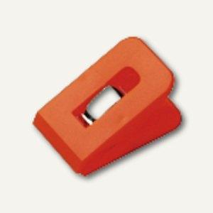Briefklemme SIGNAL 1, 25 x 43 mm, 19 mm Klemmweite, orange, 10 Stück, 1111-50