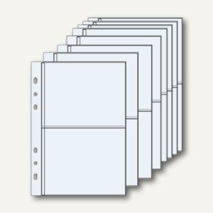 Klarsichthüllen mit Unterteilung