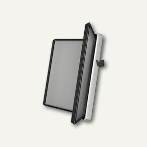 Tarifold VEO Wandsichttafelsystem mit 10 Tafeln, DIN A4, schwarz, 714507