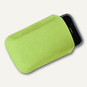 Alassio Smartphone Hülle, Nappaleder, iPhone 3/4/4s, hellgrün, 43084