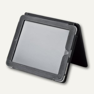 ME AND MY iPad Hülle, 25 x 19,5 x 3 cm, Kunstleder, schwarz, 30000