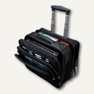"Lightpak ""Executive Line"" Business Trolley BRAVO 1, Nylon, schwarz, 46101"