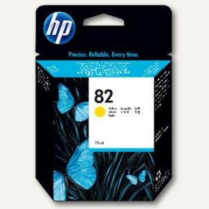 HP Tintenpatrone Nr. 82, 28 ml, gelb, CH568A