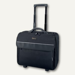 Lightpak Business Laptop Overnight Trolley TREVISO, schwarz, 92702