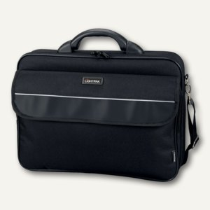 Lightpak Laptoptasche ELITE L, Polyester, schwarz, 46111