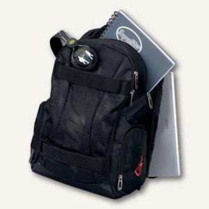 Lightpak Laptop Rucksack HAWK, Polyester, schwarz, 24603