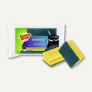 Reinigungsschwamm Kratzt Nicht, 9 x 6.5 x 4 cm, gelb-blau, 2 St., 5502/24