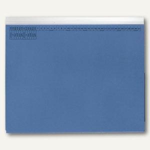 officio Kanzleihängehefter mit Tasche, Linksheftung, blau, 25 Stück, KF15777