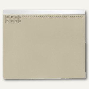 officio Kanzleihängehefter, mit Tasche, Linksheftung, grau, 25 Stück, KF15775
