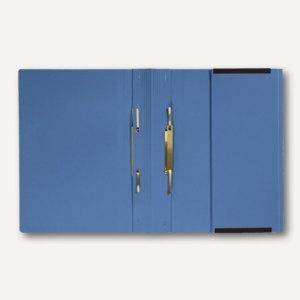officio Kanzleihängehefter mit Tasche, 2 Abheftungen, blau, 25 Stück, KF15798