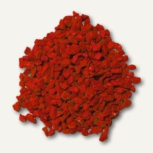 Papstar Deko-Granulat, 2.5 - 4 mm, 730 gr, rot, 6er-Pack, 10320