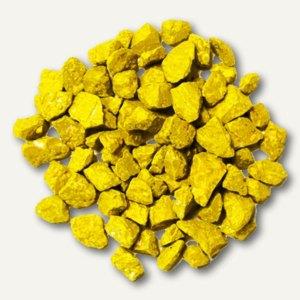Papstar Deko-Steine, 5 - 8 mm, 730 gr., gelb, 6er-Pack, 10334
